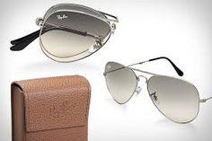 71a13f5581be1 ... 50% off ray ban folding aviator sunglasses having taken care of the  risky business era