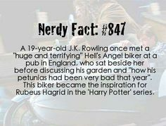 Harry Potter nerdy facts - the real-life Hagrid Harry Potter Welt, Harry Potter Love, Harry Potter Fandom, Harry Potter Memes, Harry Potter Fan Theories, Harry Potter Imagines, James Potter, Must Be A Weasley, Ron Weasley