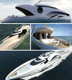 *Silly in Style - http://weburbanist.com/2012/05/05/4-fantasy-yachts-blend-sleek-silly-in-style/