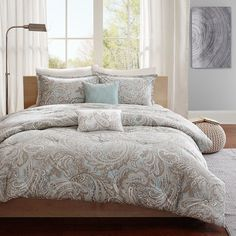 You'll love the Mathis 5 Piece Comforter Set at Wayfair - Great Deals on all Bed & Bath  products with Free Shipping on most stuff, even the big stuff.