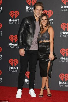TV stars: JoJo Fletcher and Jordan Rodgers have confirmed they are up for a televised wedding special Jojo Fletcher Jordan Rodgers, Jojo And Jordan, Men's Hairstyle, Celebs, Celebrities, Celebrity Couples, Hair Goals, Drawing Ideas, Going Out
