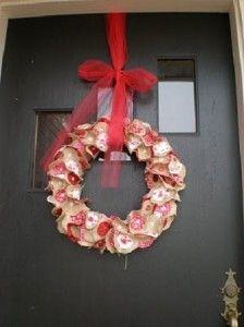 Decoracion Romantica para San Valentin, Coronas de Bienvenida3