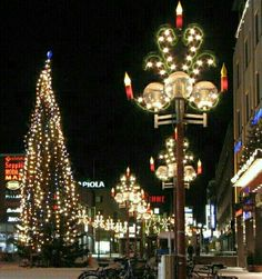 Christmas in Lapland, Finland.