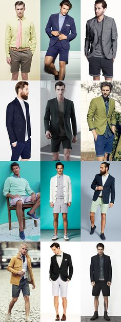 Mens Smart-Casual Shorts Outfits