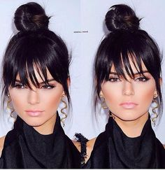 Kendall Jenner hair AMA 2015