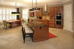 South Tampa Custom Home - contemporary - kitchen - tampa - Devonshire Custom Homes