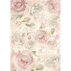 DFSA4158 - Hartie de orez A4 - Stamperia - shabby roses › Complex Art Timisoara