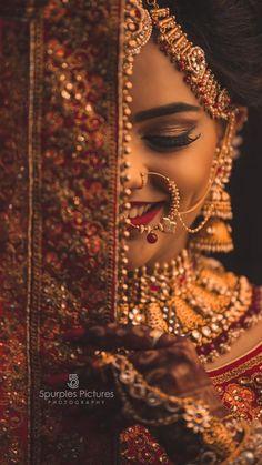 Indian Wedding Photography Poses, Photography Couples, Indian Photoshoot, Girl Fashion Style, Mini Photo, Girl Photo Poses, Dress Makeup, Bridal Beauty, Wedding Sets