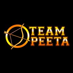 """""""Team Peeta"""" Hunger Games T-Shirt 