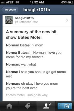 Bates Motel. Rachel. Hahahaha