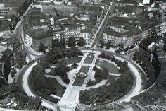 Belle-Alliance-Platz, Luftaufnahme um 1935