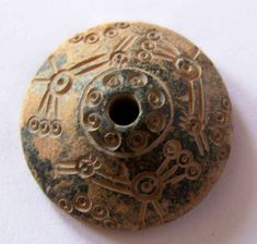 Roman steatite spindle whorl