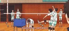 iwaizumi, oikawa, game, anime, s1, gif