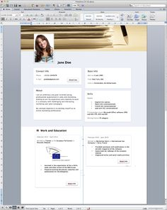 Resume Format Microsoft Acting Resume Template Word Microsoft  Httpwww.resumecareer .