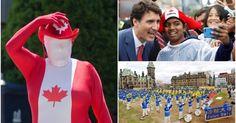 Những hình ảnh đẹp trong dịp kỷ niệm quốc khánh Canada 150 năm