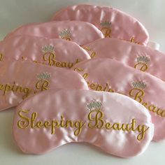 Sleeping Beauty Party Favors Slumber Party Sleep Eye Mask Princess Party by TheSleepyCottage on Etsy https://www.etsy.com/listing/231716857/sleeping-beauty-party-favors-slumber