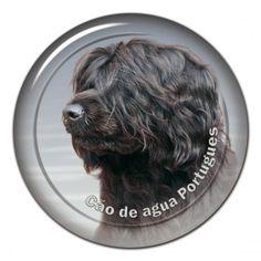 Cao de Agua Portugues 3D sticker - #caodeagua