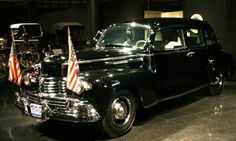 1942 Lincoln Custom Limousine - this one was used by President Roosevelt