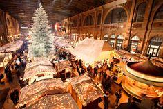 Die Top 10 der Weihnachtsmärkte an besonderen Orten