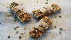 Muslibar Clean Eating, Healthy Recipes, Healthy Food, Baking, Sweet, Mad, Cakes, Drink, Ideas