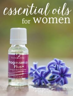 Essential oils are great for women's health support. Check out this list of Young Living essential oils - just for women!