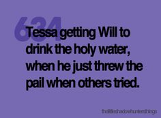 The Infernal Devices #Tessa #Will