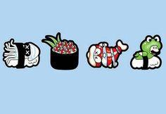 Mario enemy sushi