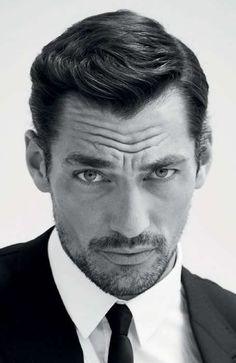 The Best Widow's Peak Hairstyles For Men: Good Enough For Gandy #menshairstyles #menshair #widowspeak