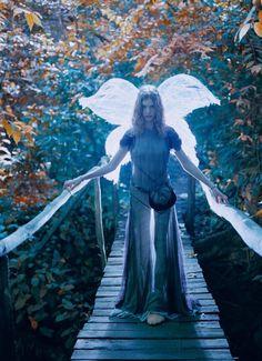 the fairy protecting her bridge.