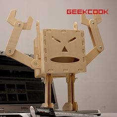 diy wood robots | Related Pictures diy robot napkin box diy robot tissue box