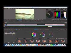 Adobe Speedgrade Basics Grading a transition Adobe Speedgrade, Youtube, Youtubers, Youtube Movies