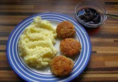 Obrázek z Recept - Vločkové karbanátky nejen pro vegetariány Czech Recipes, Russian Recipes, Ethnic Recipes, Mashed Potatoes, Food And Drink, Vegetarian, Meat, Chicken, Fitness
