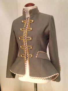 coleccion chaquetas militares Mª JOSE ORTIZ