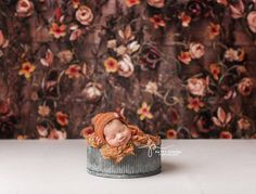 Autumn Vines - Photography backdrop only available at Baby Dream Backdrops.