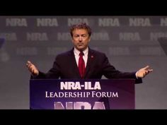 Rand Paul NRA-ILA Leadership Forum 2016 FULL Speech - YouTube