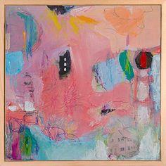"Ellen Levine Dodd ""North Truro Light"" acrylic, prismacolor, mixed media painting."