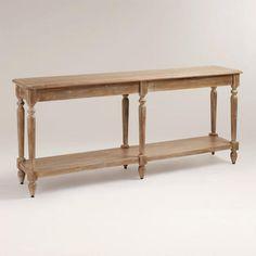 Everett Foyer Table - an alternative to Tivoli - better drawers but not sure about the bottom shelf