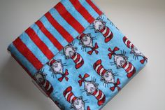 READY-to-SHIP Baby MINKY Cuddle Baby Blanket by AustinEliseBaby