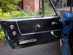 Driver side door panel