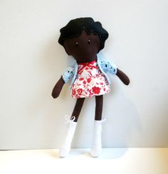 Bambola di stoffa Lula - My Noopy Doll, fabric doll by The Sewing Me ... that's me!!!