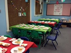 All set up for the Gingerbread House program this Saturday @ 10:30am December 19, 2015