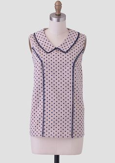 Lucy Polka Dot Blouse at #Ruche @shopruche