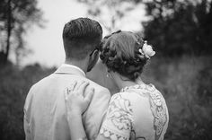 Rustic Pennsylvania Home Wedding by Julie Cate Photography