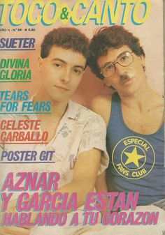 PEDRO AZNAR Y CHARLY GARCIA Music Love, Rock N Roll, Physics, Bands, Fantasy, Sayings, Wallpaper, Movie Posters, Musica