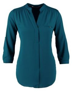 bestil Dorothy Perkins Bluser - teal til kr 249,00 (16-12-14). Køb hos Zalando og få gratis levering.