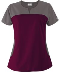 Butter-Soft Scrubs by UA™ Rounded Notch Neck Top