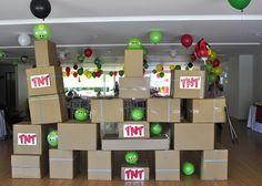 AZUCAR FLOR party studio: Angry Birds, (ENRIQUE Y CONSTANZA)
