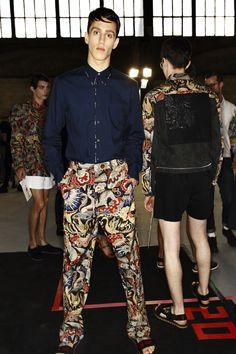 Dries Van Noten SS14 Men Fashion Show Paris Backstage