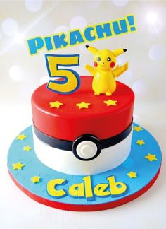 Brilliant Picture of Pokemon Birthday Cake Pokemon Birthday Cake Pikachu Cake Topper Pokmon Cake Topper Pokemon Cake Pokemon Cake Pokemon Torte, Pokemon Cake Topper, Pokemon Cakes, Pokemon Pokemon, Bolo Pikachu, Pikachu Cake, Pokemon Birthday Cake, Birthday Cakes, 7th Birthday