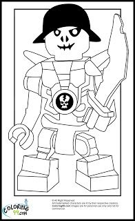LEGO Ninjago Skulkin Coloring Pages
